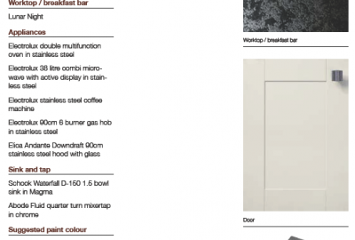 Burnett - Handle & Appliance Suggestions