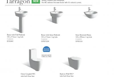 Tarragon - Basin & WC Suggestions