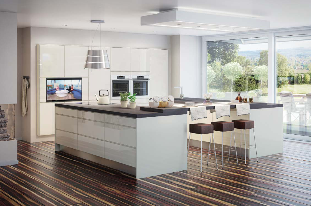 Modern Open Plan Kitchen Nottingham
