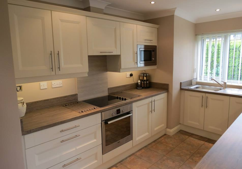 Kitchens nottingham knb ltd design and fitting available for Kitchens for small kitchens
