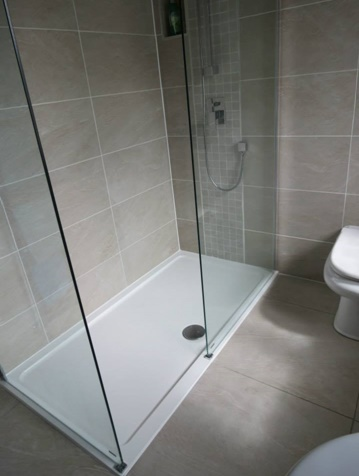 A Completely waterproof and professionally fitted bathroom in Nottingham by KNB