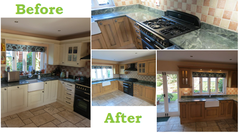 Kitchen Designers Nottingham. Before After Mrs Brown s Bespoke Kitchen Design  Remodeling Nottingham KNB Ltd