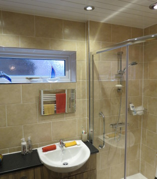 Mrs Wills' Bespoke Shower and Basin