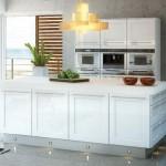 Elegant shaker style cabinets from the Sofia range