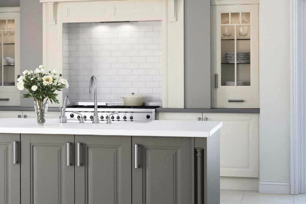 White Kitchen Worktops kitchen worktops nottingham - knb ltd