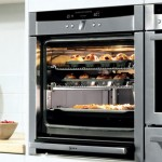 Stainless steel built-in oven
