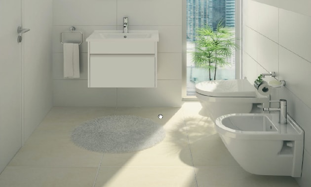 small bathroom big or small tiles small bathroom design tips to maximise space knb ltd 25745