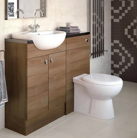 bathroom sinks for vanity units. Bathroom vanity unit installed with sink and toilet Sinks  Taps KNB Ltd