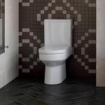 Linoleum floor tiles and brick wall tiles