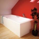Standard built in bathtub