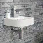Small wall mounted sink