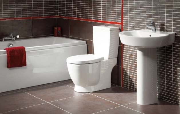 stylish modern bathroom suite