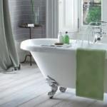 Traditional style freestanding bathtub