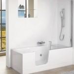 Standard walk in bath design