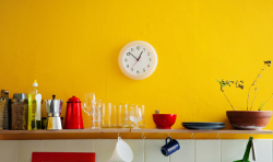 citrus kitchen paint