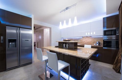 small kitchen lighting